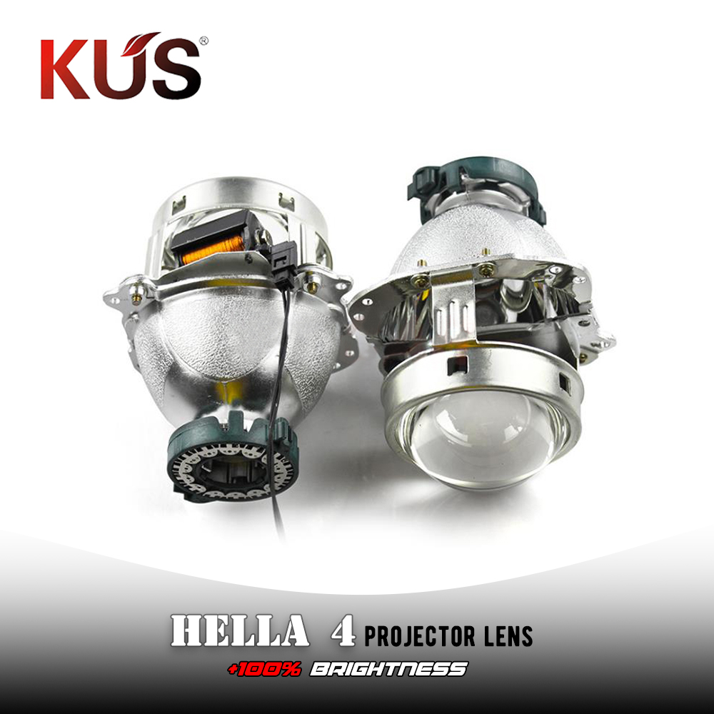 2pcs 3.0 inch hella 4 car Bi xenon hid Projector lens metal holder D1S D2S D3S D4S hid xenon kit headlight car headlight