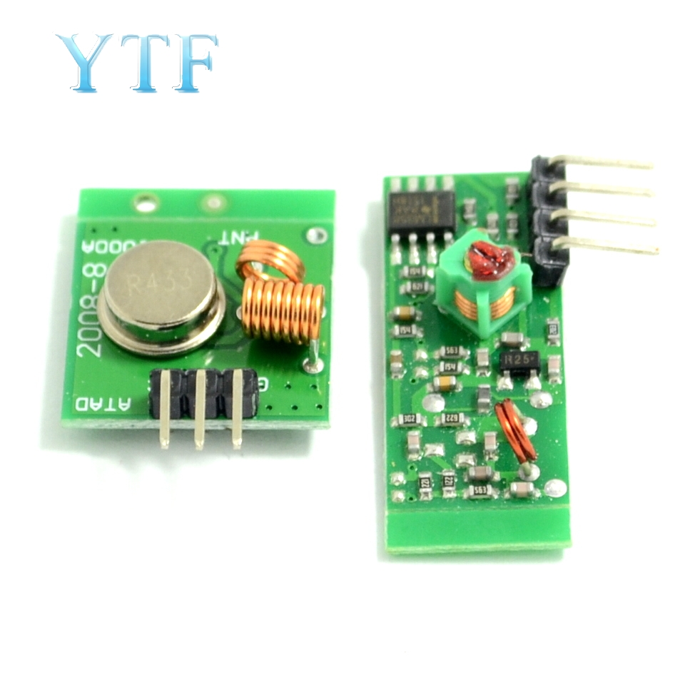 5 Volt Super-Regenerative Receiver Module/Wireless Receiving Module/Wireless Transmission Module 433MHZ 315MHZ