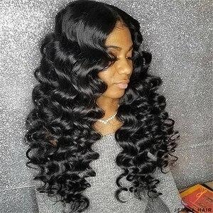 Image 3 - Karizma Brazilian Hair Weave Bundles With Closure Brazilian Loose Wave 3 Bundles With Closure Non Remy Human Hair With Closure