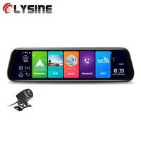 Olysine 10'' Rearview Mirror Android 4G Dash Camera GPS Navigator Car DVR ADAS WiFi Dashcam FHD 1080P Video Recorder Registrator
