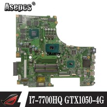 Akemy GL753VD Laptop Cho Asus ROG GL753VD GL753VE GL753V Ban Đầu Mainboard I7-7700HQ GTX1050-4G(China)
