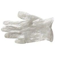 Luvas plásticas transparentes da limpeza do agregado familiar das luvas 100 pares descartáveis do pvc|Luvas de segurança| |  -