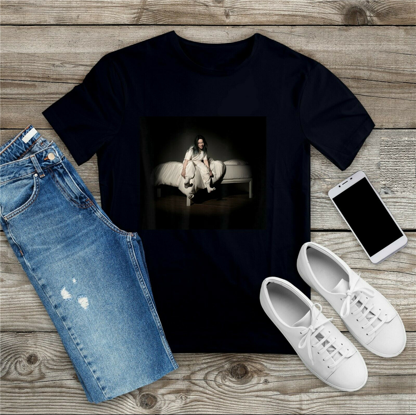 Black Billie Eilish Sweet Dreams T- Shirt S 3Xl Birthday Gift Tee Shirt