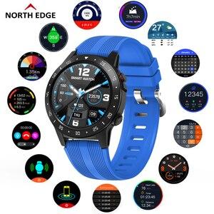 Image 1 - צפון קצה GPS ספורט שעון Bluetooth שיחת רב ספורט מצב גובה מצפן חיצוני ריצה מוסיקה חכם שעון קצב לב