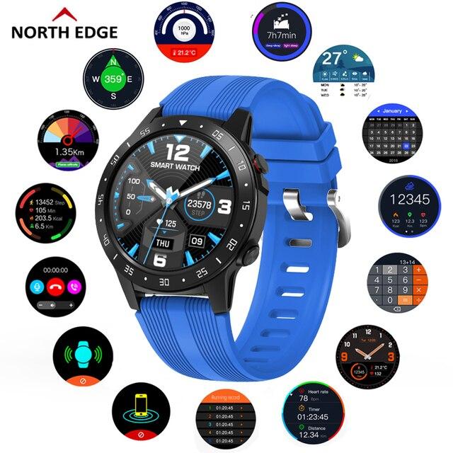 צפון קצה GPS ספורט שעון Bluetooth שיחת רב ספורט מצב גובה מצפן חיצוני ריצה מוסיקה חכם שעון קצב לב