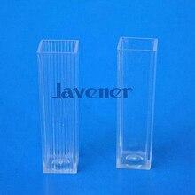 Container-Craft Avox 81pcs Cuvette-Lab-Kit-Tools Vials Test-Tubes Square Plastic