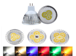 lighting MR16/GU5.3 LED Spotlight Dimmable LED Lamp 3W 4W 5W 12V 110V 220V Red green blue Lampada LED Bulbs light Spot Candle