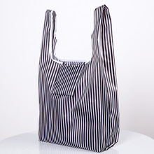 Eco Shopping Bag Fashion Foldable Reusable Tote Folding Pouch Convenient Large-capacity Storage Bags New