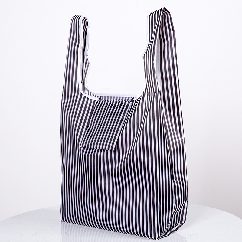 Three Styles Eco Shopping Bag Fashion Foldable Reusable Tote Folding Pouch Convenient Large-capacity Storage Bags New