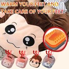 Couvre-pieds électrique Usb avec interrupteur chauffant, minuterie, démarrage en toute sécurité, couvre-pieds, coussin chauffant, cadeaux chauds d'hiver