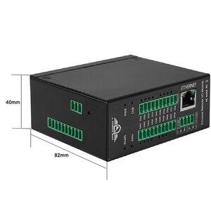 Image 3 - Módulo IO IOT remoto Ethernet contador de pulso de alta velocidad Módulo de adquisición de datos Modbus TCP 16 DIN soporte Modbus RTU/ASCII Master