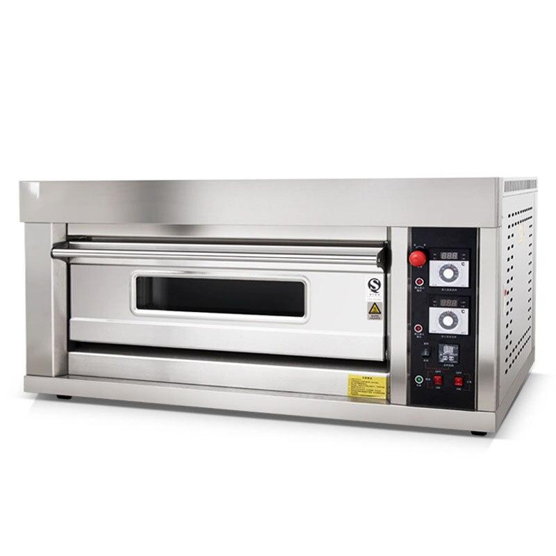 Four à gâteau de pain de contrôle de température automatique Commercial de four à gaz de WFC-102Q avec la cuisson de Mooncake de four à Pizza chronométrée