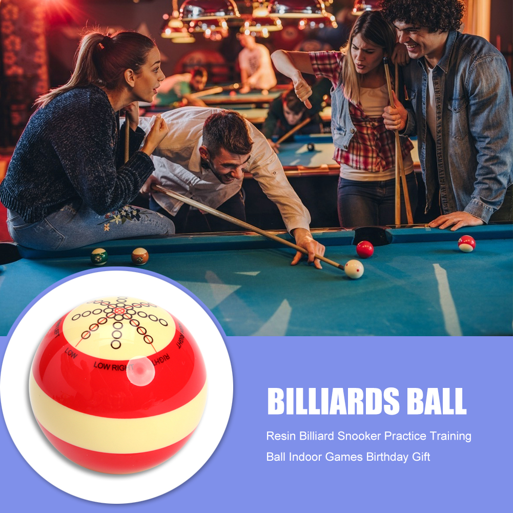 Resin Billiard Snooker Practice Training Ball Indoor Games Birthday Gift