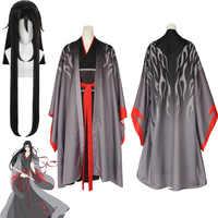 2019 neue Wei Wuxian Die Yiling Patriarch Cosplay Großmeister von Dämonische Anbau Kostüm Wei Wuxian Mo Dao Zu Shi Kostüm männer