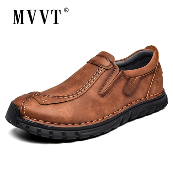 2020 Autumn Casual Leather Shoes Men Comfortable Outdoor Leather Men Shoes Breathable Flats Shoe Hot Sale Moccasins Loafers 2020 super comfortable casual leather shoes men soft leather loafers men shoes breathable flats shoe hot sale moccasins shoes