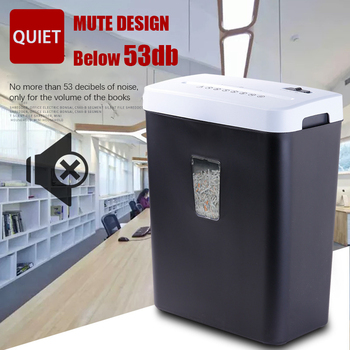 Shredder Cs508 Office And Household Documents Smashed Silent Confidential 16 Litre Small Electric Shredder Package