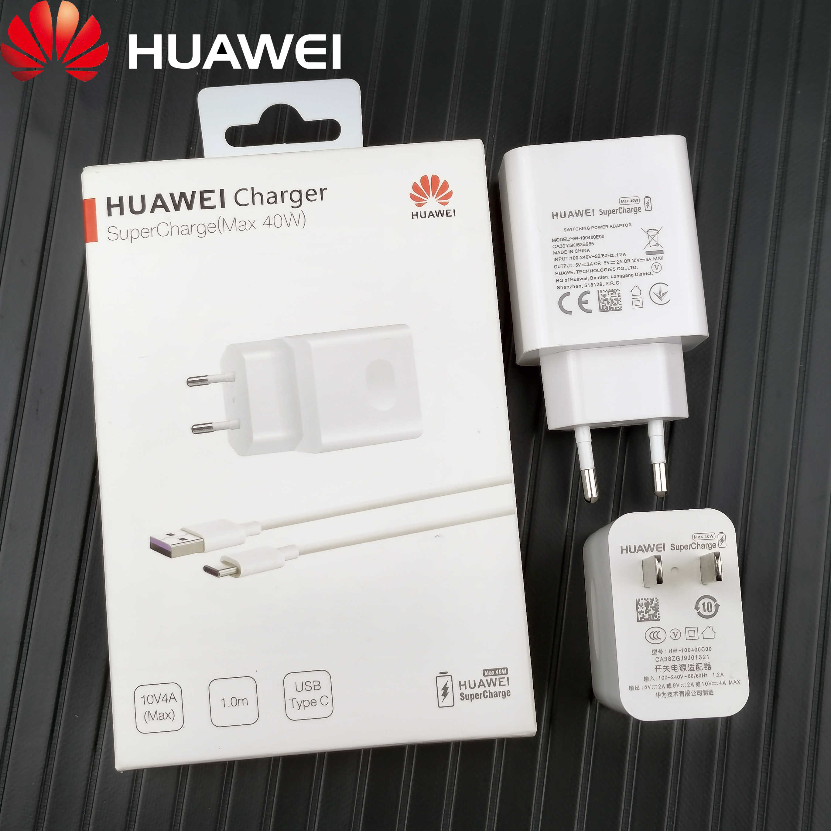 Huawei P30 Pro Charger Original Fast 40W SuperCharge 5A(Max) Usb Type C Travel Charge power adapter for P40 P30 P20 Mate 30 20 X|Mobile Phone Chargers| - AliExpress