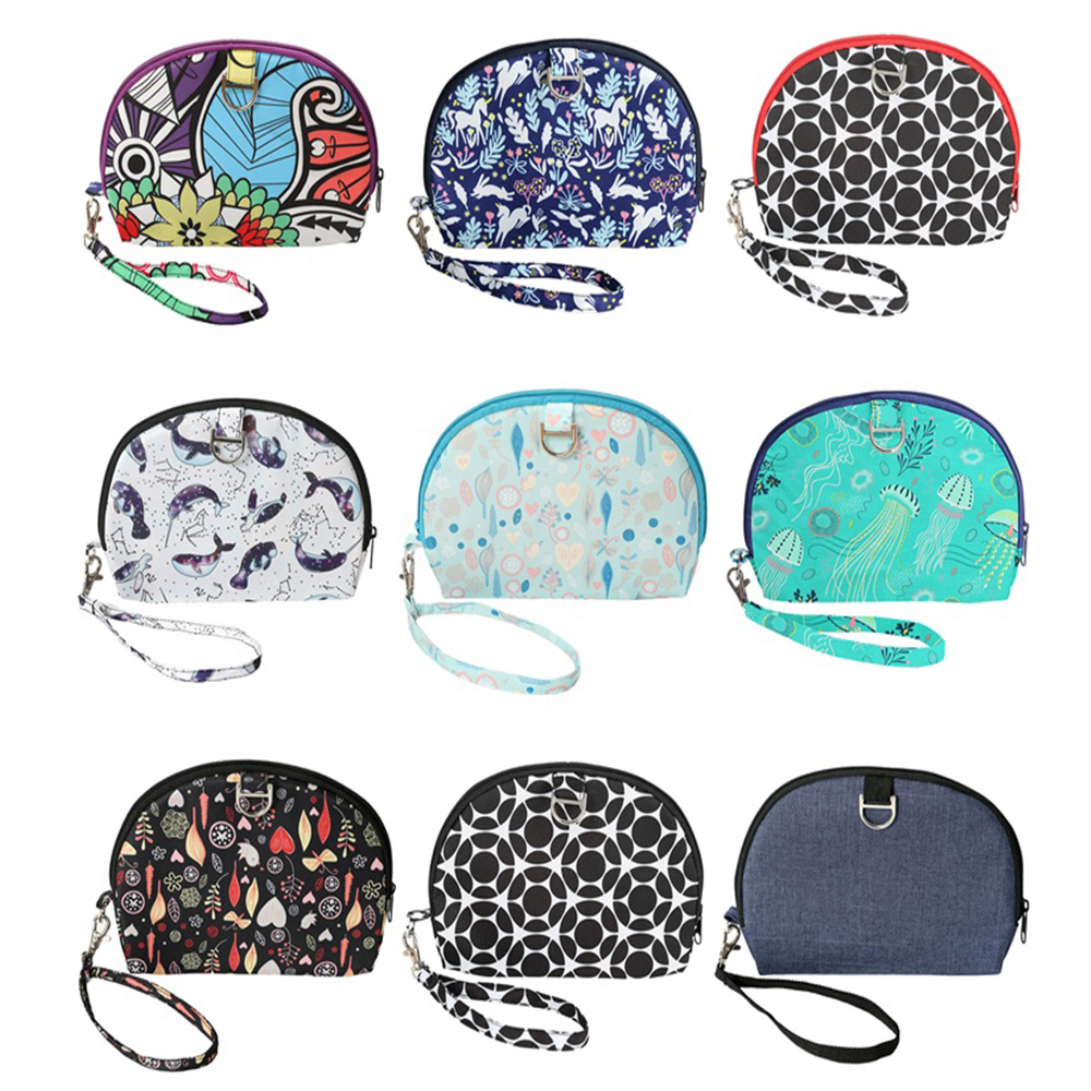 Mommy Bag Fashional Purse Maternity Bag For Stroller Changing Wet Bag Print Waterproof Baby Diaper Organizer 20*20.5CM