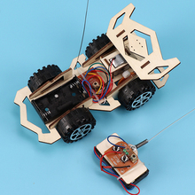 Kids Boys DIY Assembly RC Car Model Set
