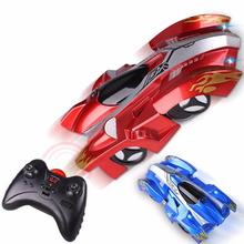 Children RC Car Wireless Electric Remote Control RC Wall Climbing Car Toy Model Bricks Drift Flashing Race Toys for Baby Kids