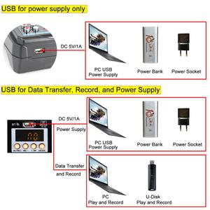 Image 3 - Freeboss AM PSM تيار مستمر 5 فولت امدادات الطاقة USB واجهة 6 قناة 2 مونو 2 ستيريو 16 تأثيرات جهاز مزج الصوت