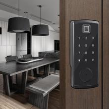 купить Digital Fingerprint Password  Keypad Card Reader Smart Electronic Door Lock по цене 8003.97 рублей