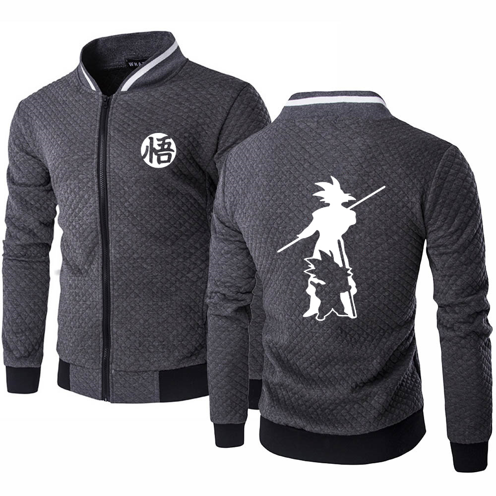 Dragon Ball Z Men's Modern Jacket / Sweatshirt