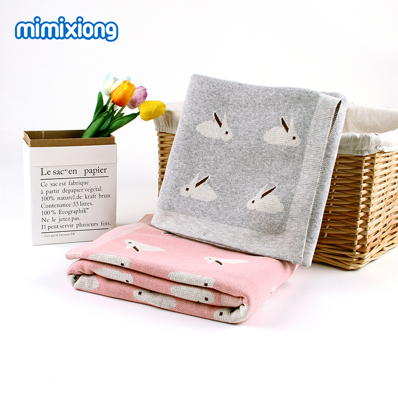 Baby Blankets Super Soft Knitted Infant Bebes Swaddle Wrap Blanket Fashion Autumn Newborn Bedding Blanket Children Covers 100*80