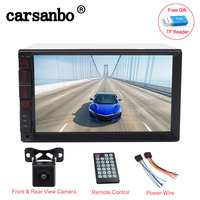 phone screen 7 inch 2 Din car audio Car Stereo Radio Player Mirror Link with android IOS phone Touch screen Bluetooth FM/MP5/USB autoradio (1)