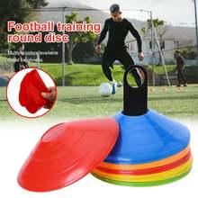 10 шт/компл футбольный тренировочный знак плоское давление упорные