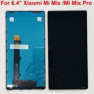 Image 3 - 100% Оригинальный ЖК экран 6,4 дюймов для Xiaomi Mi Mix /Mi Mix Pro 18k версия + сенсорная панель дигитайзер Рамка для MI Mix дисплей