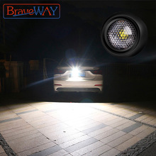 Extra-Reversing-Light Beam Work-Light Car-Lamp Fog-Lamp-Flood 1157 LED Braveway for Auxiliary