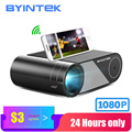 Byintek Mini Projector K9 ,1280X720P, Draagbare Video Beamer; led Proyector Voor 1080P 3D 4K Cinema (Optie Multi-Screen Voor Iphone
