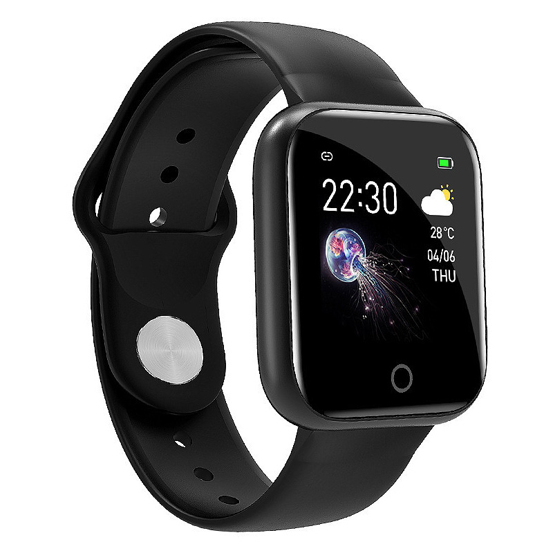 I5 For Apple Watch Pedometer Music Control Multiple Dials Heart Rate Fitness Smartwatch Men Women Android IOS