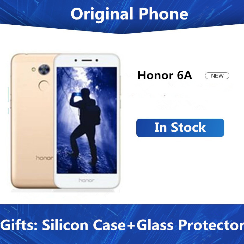 Honra original 6a 4g lte telefone móvel snadpragon 430 android 7.0 5.0