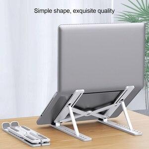 Image 2 - Có Thể Gập Lại Laptop Chân Đế Có Thể Điều Chỉnh Máy Tính Xách Tay Đứng Laptop Di Động Giá Đỡ Máy Tính Bảng Máy Tính Hỗ Trợ Cho MacBook Air Pro