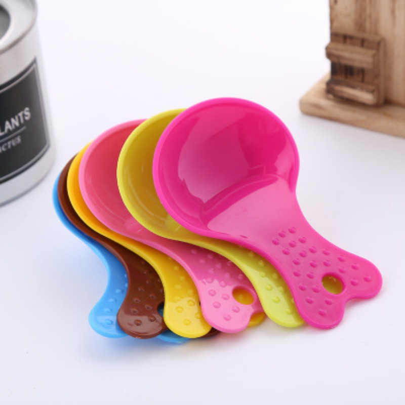 Pet Plastic Shovel Dog Cat Feeding Supplies Large Capacity Food Scoop Cat Dog Colorful Feeding Spoon Spatula For Food