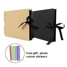 Craft DIY Photo Albums for Lovers Scrapbook Album Paper Scrapbooking Picture Album Wedding Birthday Gift Photos for Boyfriend