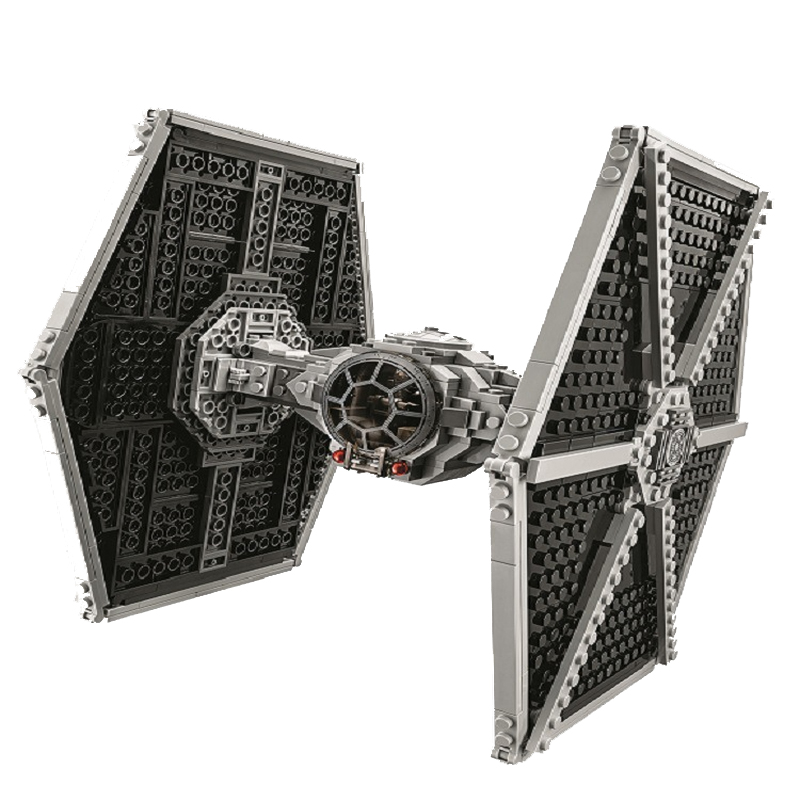 10900 Star Series Wars Imperial TIE Fighter Building Blocks Iconic Attack Craft Compatible With Lepining Toys For Children