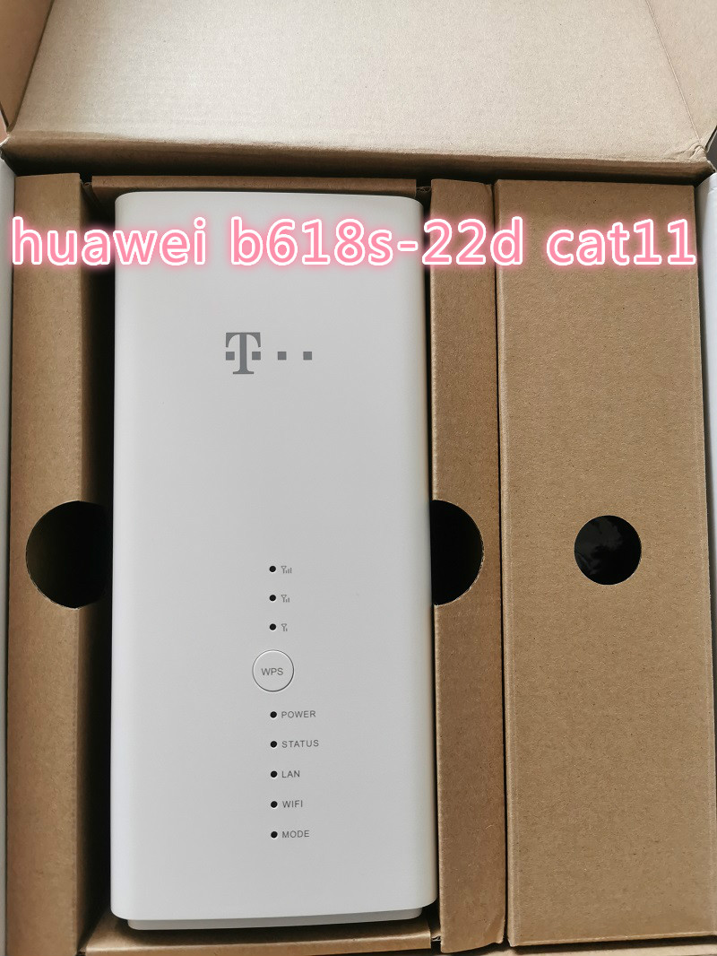 Unlocked Huawei B618s-22d Cat11 4G LTE Band 1/3/7/8/20/38 600Mbs Wireless Router