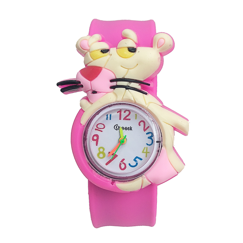 Wholesale New Mouse Children's Watch Students Clock Kid Boys Girls Birthday Present Child Silicone Kids Watches Reloj Infantil