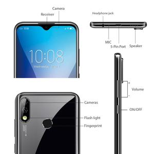 "Image 3 - 6G Ram 128G Rom Oukitel Y4800 Smartphone Android 9.0 6.3 ""19.5:9 Fhd Octa Core Mobiele Telefoon Id Vingerafdruk 4000Mah 9V/2A"