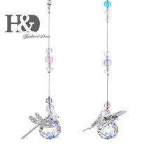 Suncatcher-Ornament Pendants Prism Crystal-Ball Hanging Window-Decor Butterflie Rianbow