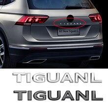 Adhesivo para maletero fuente cartas emblema adhesivo para VW TIGUANL GOLF POLO PHIDEON ARTEON MAGOTAN PASSAT PHAETON coche TOUAREG estilo