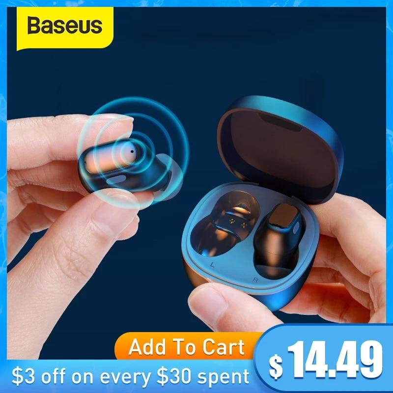 Bluetooth Earphones Stereo Wireless 5.0