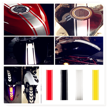 Motorcycle Reflective Sticker Fuel Oil Tank Pad Decal FOR HONDA CR80R 85R CRF150R CR125R 250R CRF250R CRF250X CRF450X image