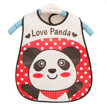 High quality Baby Bandana Bibs EVA Plastic Waterproof Lunch Bibs Infants Cartoon Bibs Baberos For Children Feeding Clothing(China)