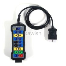 Caja de rotura de coche AutoKW308, OBDII, obd, Detector de protocolo de coche, interfaz obd2, monitor KW308, novedad de 2021