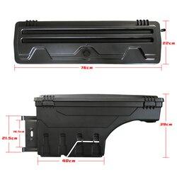 Boîtes d'outillage de stockage de hayon de camion arrière d'accessoires automatiques extérieurs adaptées pour la voiture de ramassage de FORD RANGER