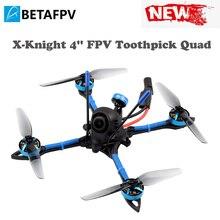 X knight 4 FPV cure dents Quad avec 20A cure dents F4 2 4S AIO FC 1505 3600KV moteurs sans balais A01 25 200mW 5.8GVTX 4 pouces cadre
